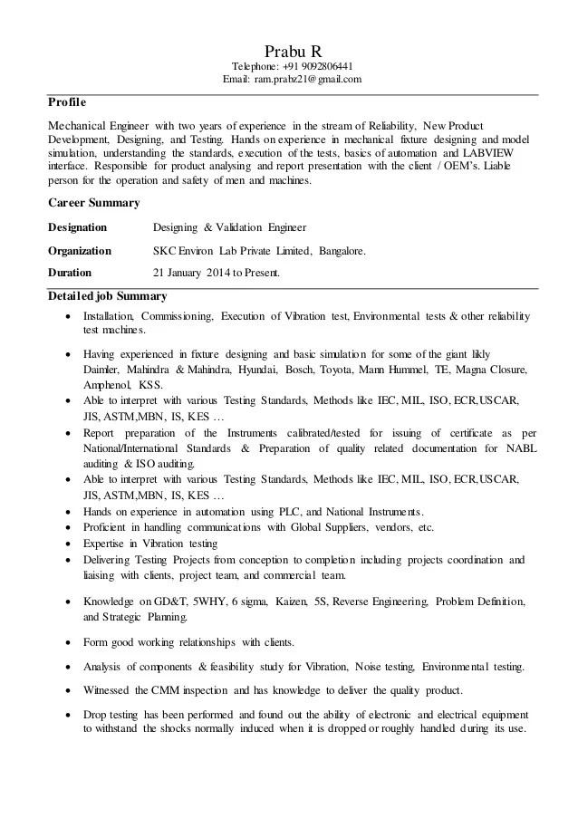 Prabu resume 13 Jan 1