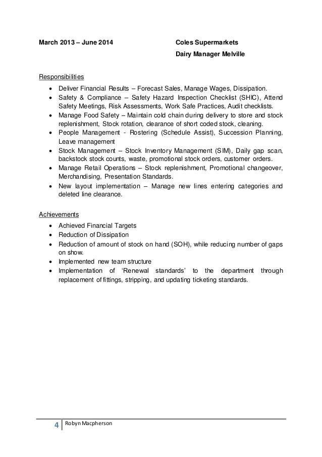 Robyn Macpherson Resume