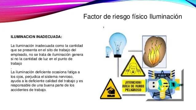 Factores de riego fisico