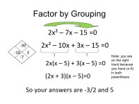 Factoring Quadratic Equations Worksheet - Tessshebaylo
