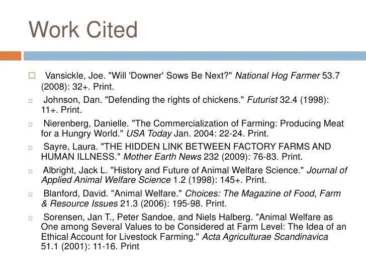 Factory Farming Pros And Cons