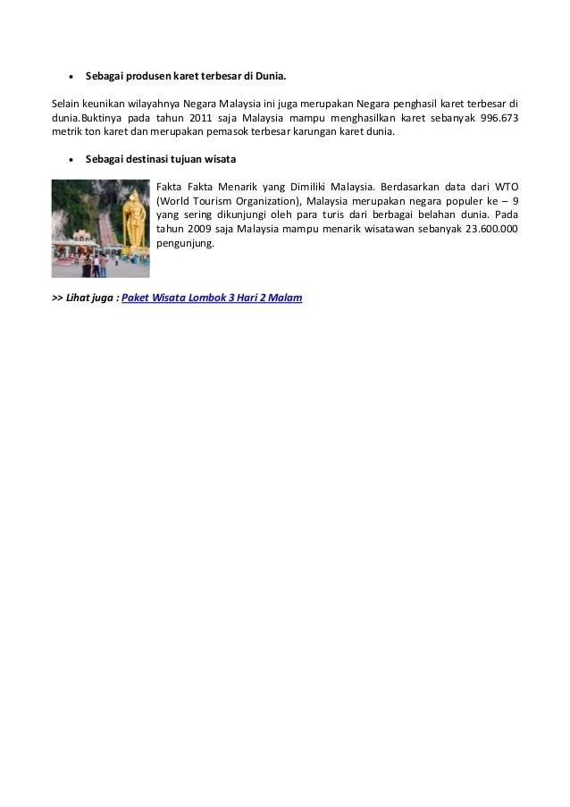 Negara Penghasil Karet Terbesar Di Dunia : negara, penghasil, karet, terbesar, dunia, Fakta, Menarik, Dimiliki, Malaysia