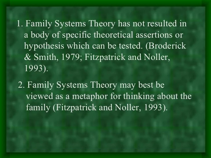 Essays On Family Systems Theory Research Paper Academic Writing Service