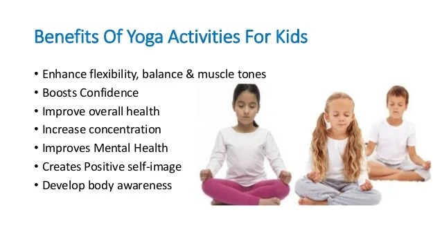 Family Health - Yoga And Kids