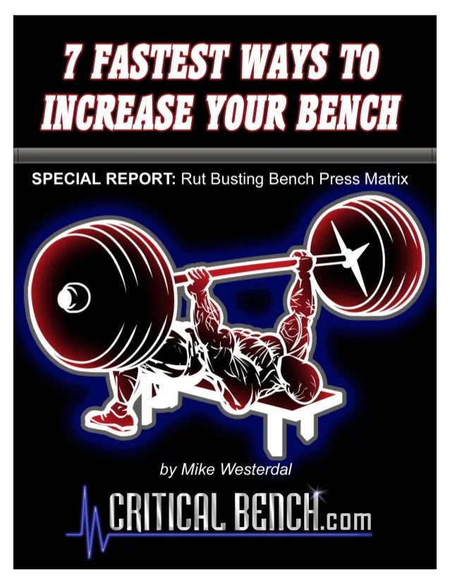 How To Increase Your Bench Press Fast