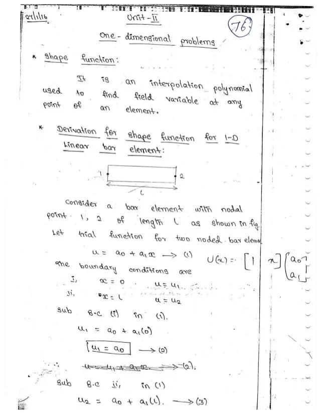 finite element method example