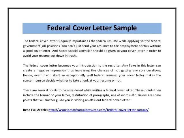 Federal Employment Protection