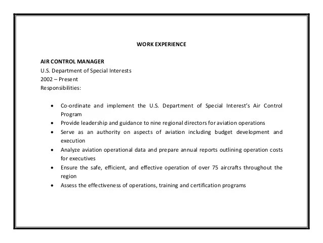 special skills and interests for resume