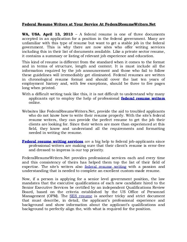 Federal Resume Writers College Recommendation Letter Template