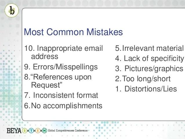 Resume-tips-mistakescommon-resume-complaints - travelturkey.us ...