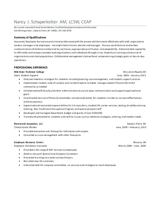 Nancy J Schaperkotter Resume 2 Updated 3 4