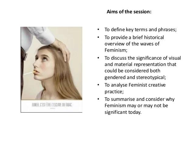 feminism lecture