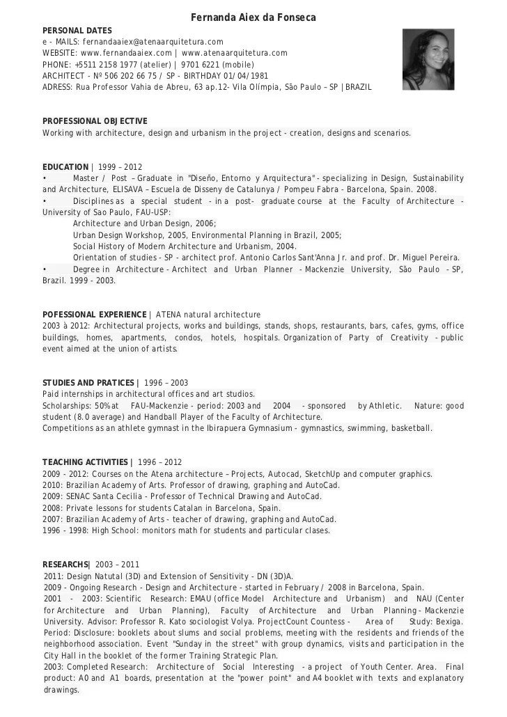 Fernanda Aiex Cv English