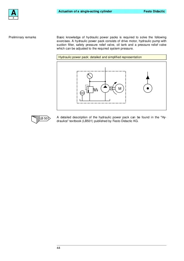 Festo electro hydraulics basic levelstextbook