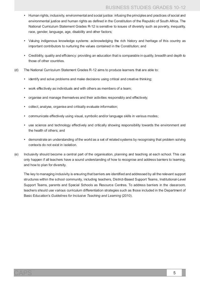 Caps Document