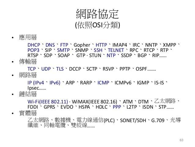 鳳新高中電腦研究社(FHCRC)102級下學期社課 - 通訊網路概論