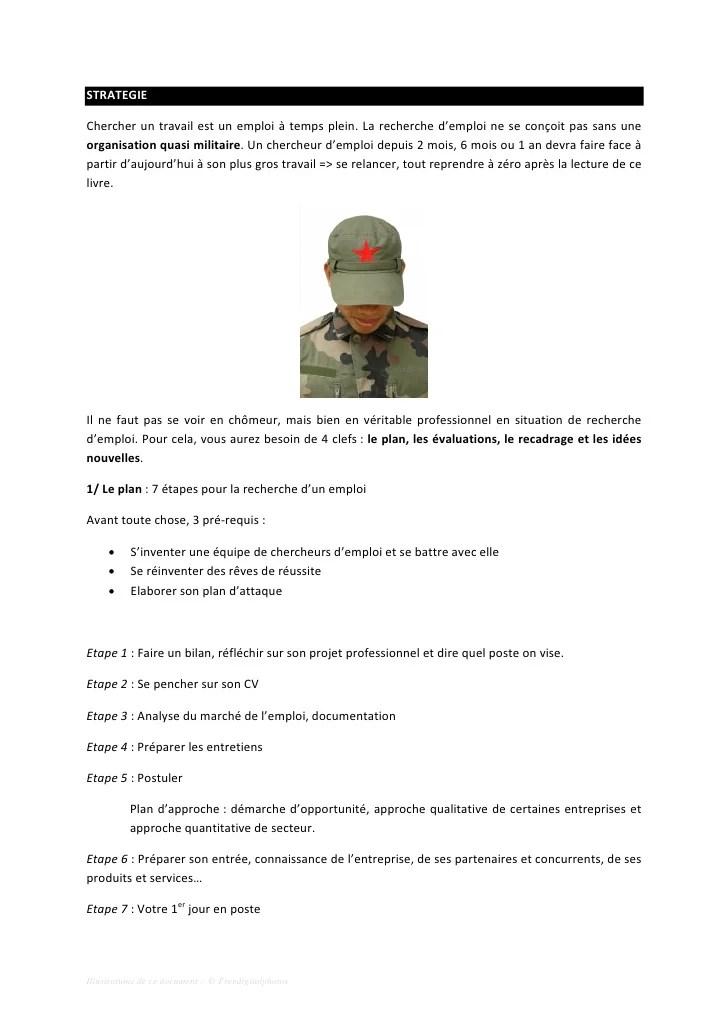cv militaire exemple