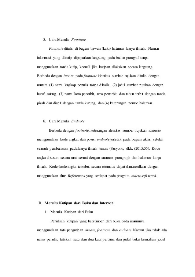 Cara Menulis Kutipan dengan APA Style dan MLA style (+Contoh)