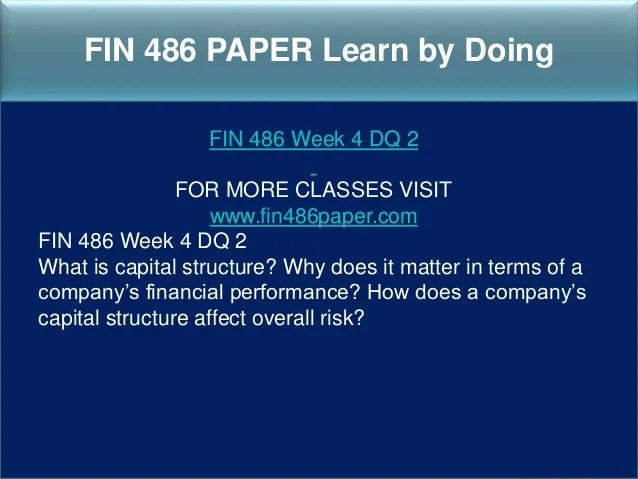 Fin 486 capital budgeting worksheet College paper Academic Service