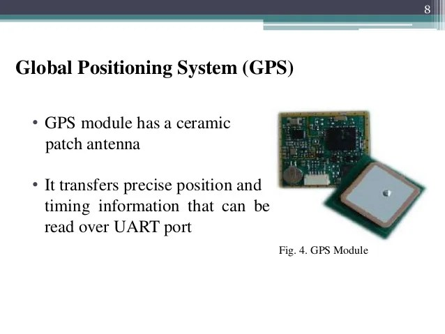Fig 2 Circuit Of Pcbased Gps Receiver Fig 3 Gps Module