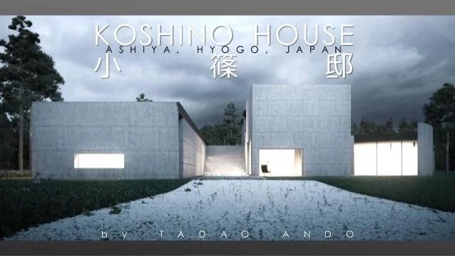 KOSHINO HOUSEANDO TADAO