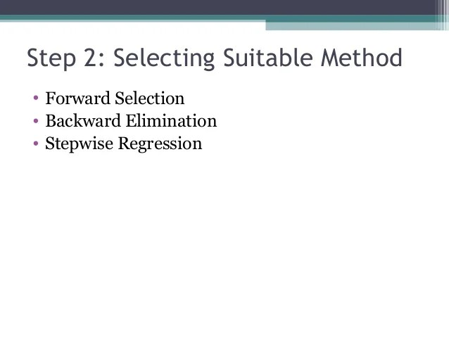 Literature Review On Multiple Regression Analysis