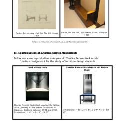Charles Rennie Mackintosh Willow Chair Rope Hammock Swing Furniture Design By 14