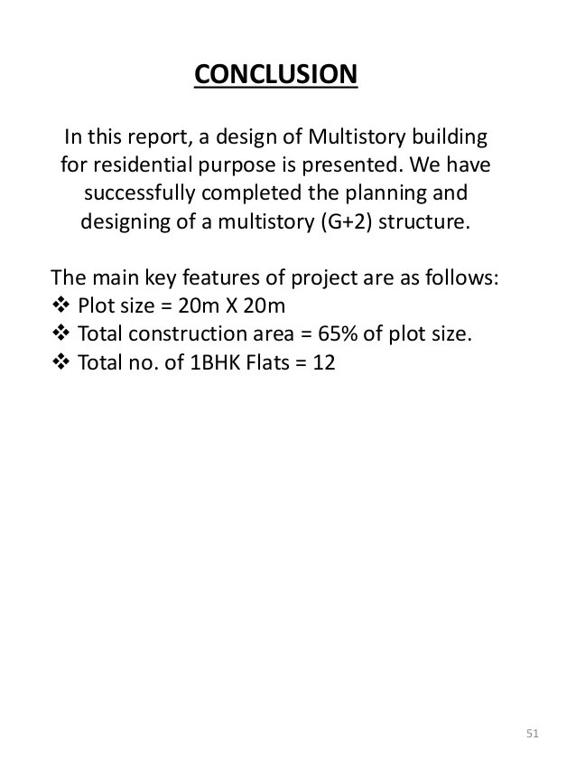 Design And Analasys Of A G 2 Residential Building