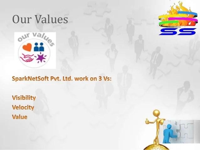 Spark Netsoft Pvt Ltd Company Presentation