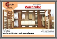 Bhavika Goyal B.Sc. Interior Design (Wardrobe Planning Work)
