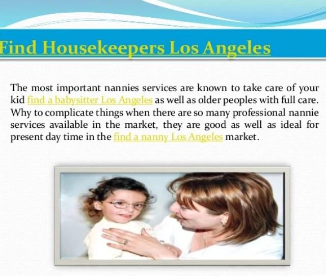 Find Housekeepers