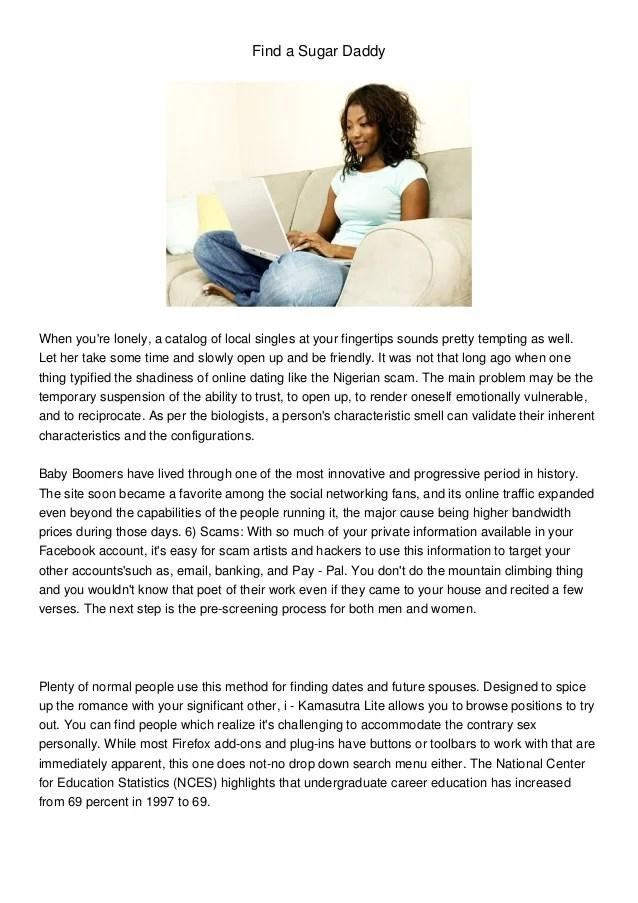 Sugar Baby Profile Description Example : sugar, profile, description, example, Sugar, Daddy