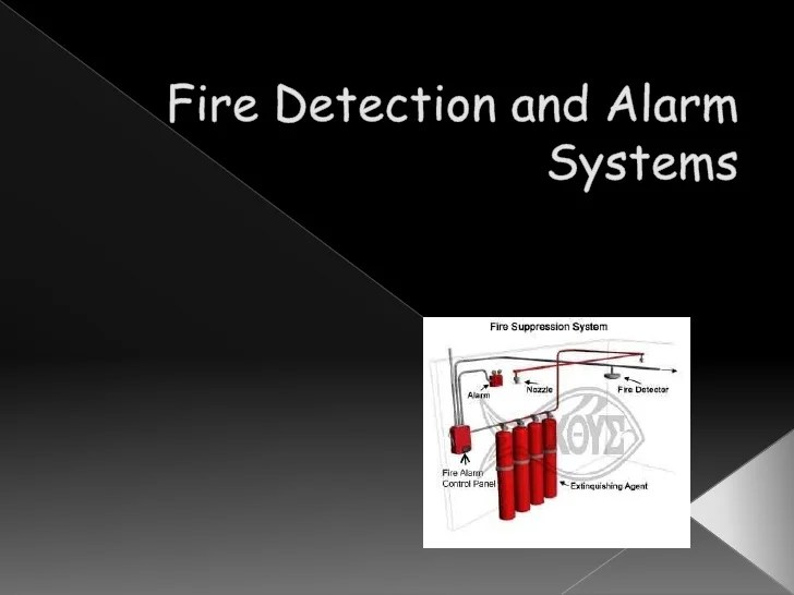Basic Fire Alarm System Diagram Fire Detection And Alarm Systems