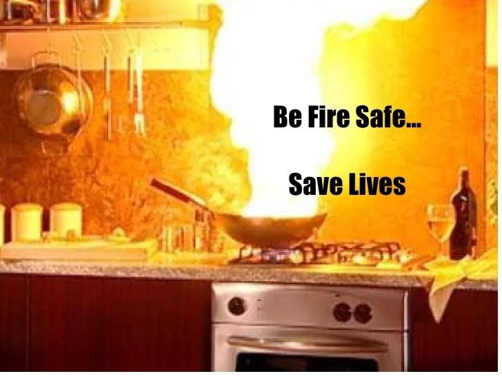 Fire Safety In Kitchen