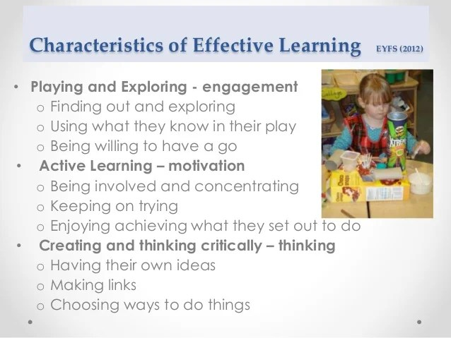 First thoughts on learning and teaching