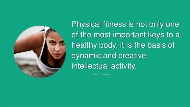 Physical Fitness Motivation