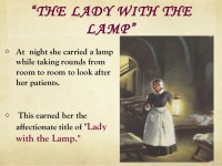 Florence nightingale- lady with the lamp and the mother of ...