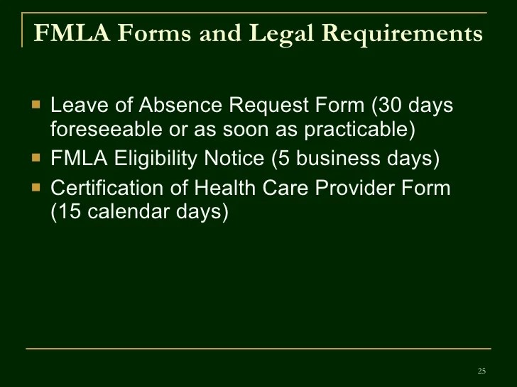 Fmla Employee Training V.4 Revised 02 11 09
