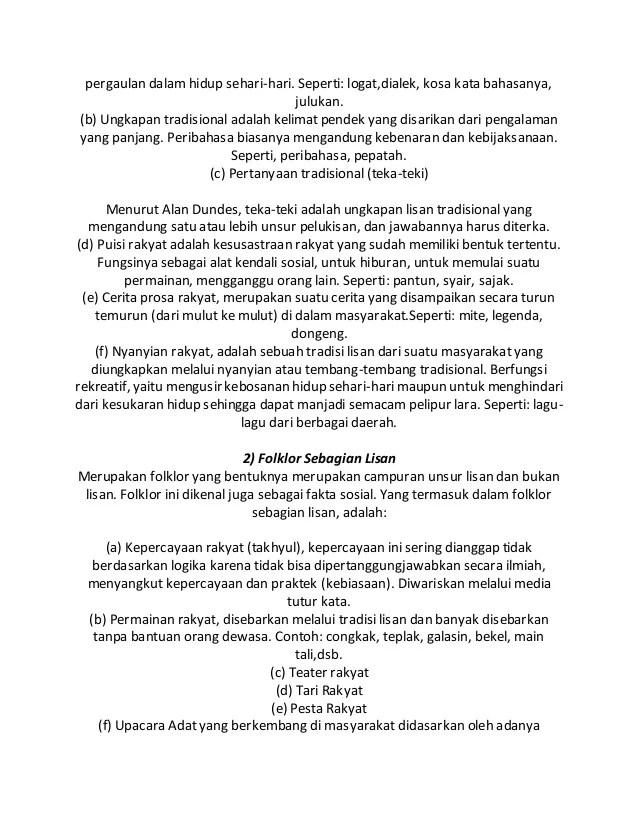 Contoh Folklor Lisan Bahasa Rakyat : contoh, folklor, lisan, bahasa, rakyat, Foklore, Sebagai, Kajian, Arkeologis