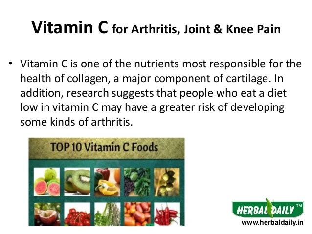 Vitamin  also foods to eat  avoid in arthritis hindi  rh slideshare