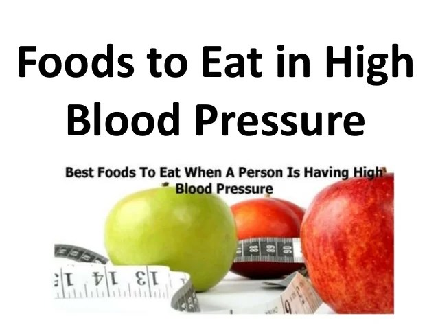 Foods to eat in high blood pressure hindi  also rh slideshare