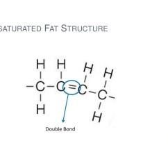 Fat Structure Diagram Electrical Wiring Ppt Food Technology Lipids Unsaturated Double Bond