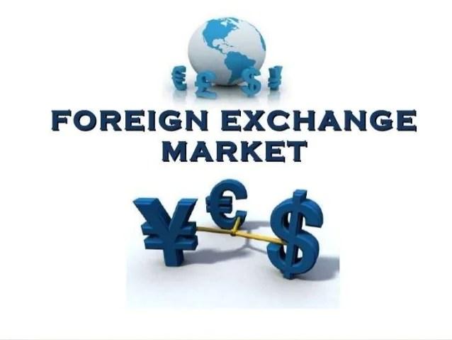 Forex market ppt