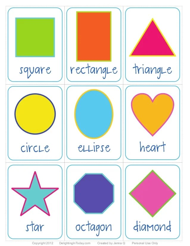 Elementary Shapes Students