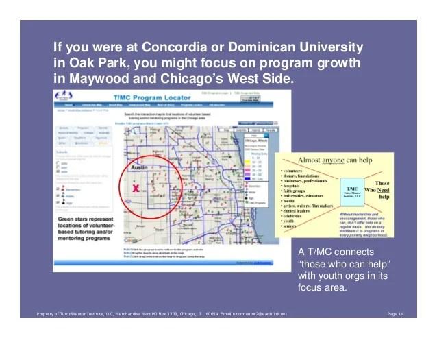 Concordia University Chicago Campus Map