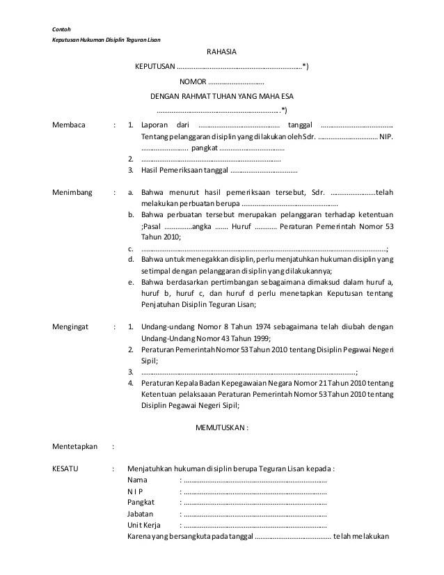 Contoh Surat Teguran Tertulis Pegawai Negeri Sipil : contoh, surat, teguran, tertulis, pegawai, negeri, sipil, Contoh, Surat, Teguran, Lisan, Tahun, Contoh.Lif.co.id