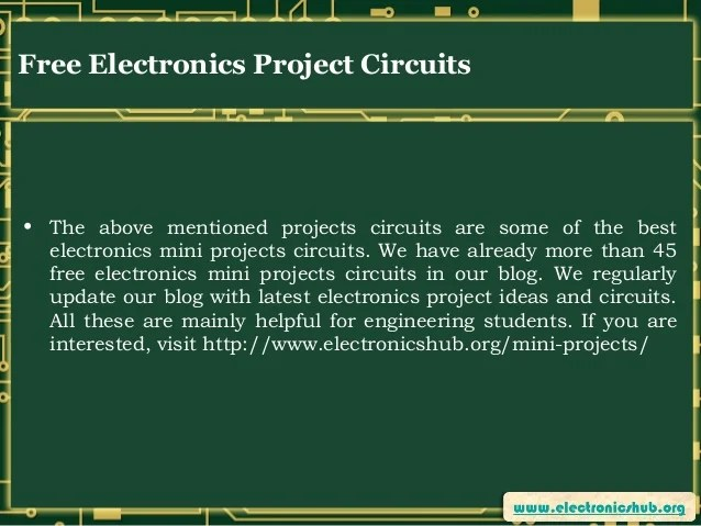 Circuits Book A 555 Timer Application Electronics Projects Circuits