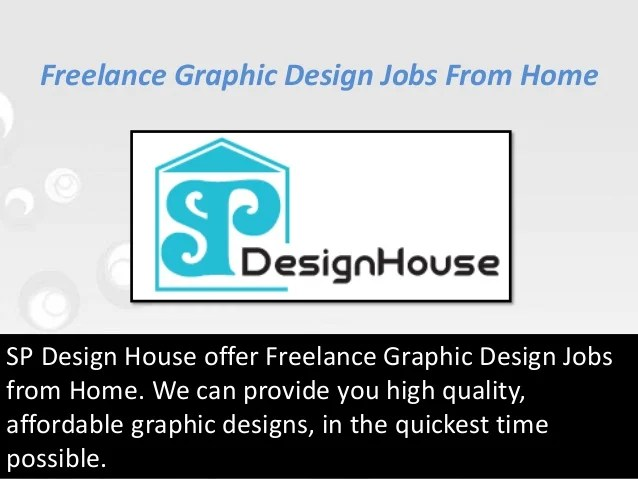 Stunning Online Graphic Designing Jobs Work Home Ideas - Interior ...