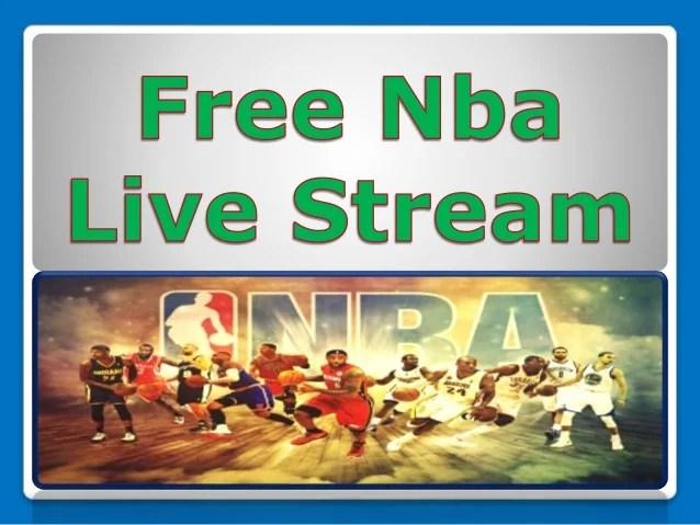 free nba stream