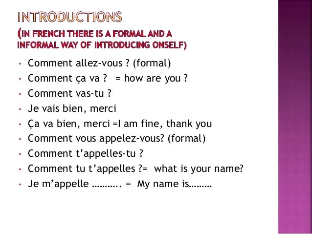 French Basics Amp Grammar Updated